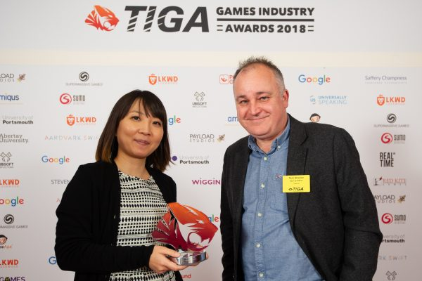TIGA Games Industry Awards at the Guildhall London.Best Action and Adventure Game winners Sony Interactive Entertainment EuropeNovember 1 2018Matthew Power Photographywww.matthewpowerphotography.co.uk07969 088655mpowerphoto@yahoo.co.uk@mpowerphoto