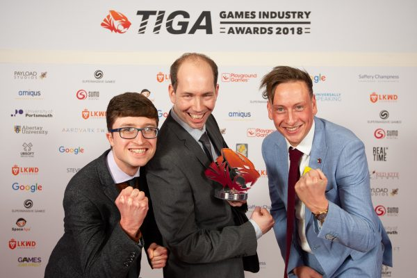 TIGA Games Industry Awards at the Guildhall London.Best  - QA Provider - Universally SpeakingNovember 1 2018Matthew Power Photographywww.matthewpowerphotography.co.uk07969 088655mpowerphoto@yahoo.co.uk@mpowerphoto