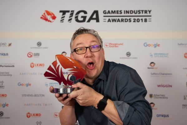 TIGA Games Industry Awards at the Guildhall London.Best  - Casual Game - Curve Digital Publishing LtdNovember 1 2018Matthew Power Photographywww.matthewpowerphotography.co.uk07969 088655mpowerphoto@yahoo.co.uk@mpowerphoto