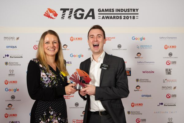 TIGA Games Industry Awards at the Guildhall London.Best Tax Accountancy Firm - Saffery ChampnessNovember 1 2018Matthew Power Photographywww.matthewpowerphotography.co.uk07969 088655mpowerphoto@yahoo.co.uk@mpowerphoto