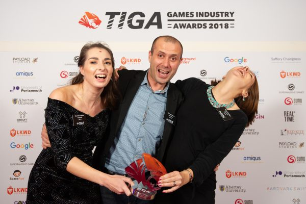 TIGA Games Industry Awards at the Guildhall London.Best Art Animation Trailer Supplier - Atomhawk November 1 2018Matthew Power Photographywww.matthewpowerphotography.co.uk07969 088655mpowerphoto@yahoo.co.uk@mpowerphoto