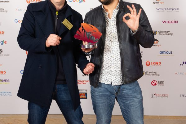 TIGA Games Industry Awards at the Guildhall London.Best Game by a small studio - Payload Studios November 1 2018Matthew Power Photographywww.matthewpowerphotography.co.uk07969 088655mpowerphoto@yahoo.co.uk@mpowerphoto