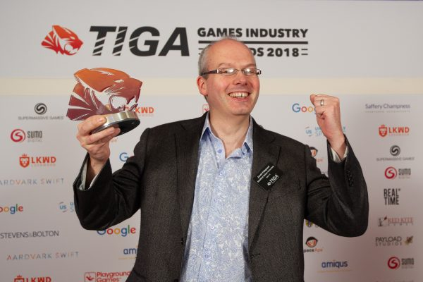 TIGA Games Industry Awards at the Guildhall London.Best Educational Institution - Sheffield Hallam UniversityNovember 1 2018Matthew Power Photographywww.matthewpowerphotography.co.uk07969 088655mpowerphoto@yahoo.co.uk@mpowerphoto