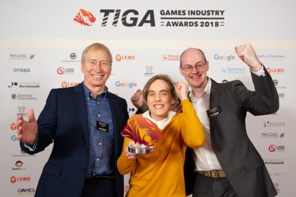 TIGA Games Industry Awards at the Guildhall London.  Heritage Award - Nomad Games Ltd  November 1 2018   Matthew Power Photography www.matthewpowerphotography.co.uk 07969 088655 mpowerphoto@yahoo.co.uk @mpowerphoto
