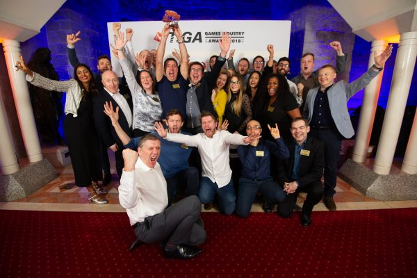 TIGA Games Industry Awards at the Guildhall London.  Publisher - Sony Interactive Entertainment Europe  November 1 2018   Matthew Power Photography www.matthewpowerphotography.co.uk 07969 088655 mpowerphoto@yahoo.co.uk @mpowerphoto