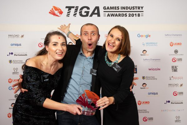 TIGA Games Industry Awards at the Guildhall London.